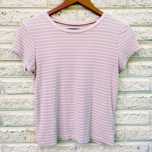 Pink and striped American Eagle tee !